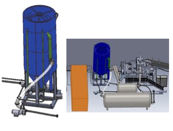 Модуль очистки промывочной воды