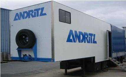 Мобильная установка Андритц Andritz