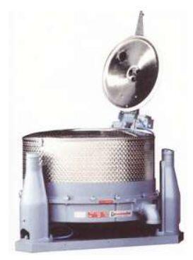 Центробежный гидроэкстрактор SC со съемными и сменными барабанами, сетками или мешками