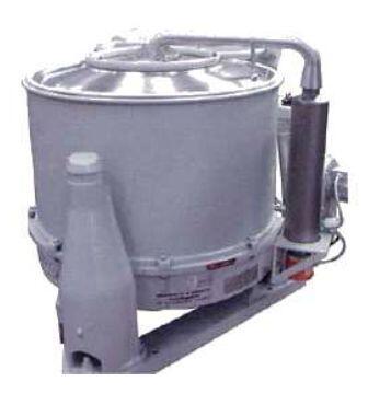Промышленные центрифуги со съёмным барабаном Вид_KFE