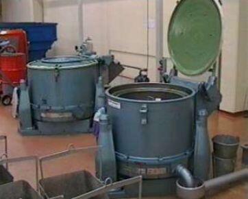 Промышленные центрифуги со съёмным барабаном Вид_KFO